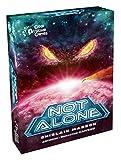 Not Alone est un jeu de cartes asymétrique opposant un joueur (la créature) aux autres joueurs (les traqués). Jeu captivant et immersif Facile à apprendre, rapide à jouer Grande jouabilité De 2 à 7 joueurs A partir de 10 ans