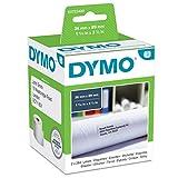 Dymo LW Etichette per Indirizzi Grandi, Autoadesive, per Etichettatrici LabelWriter, Originali, 2 Rotoli da 260 Etichette Facilmente Staccabili, 36 mm x 89 mm