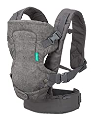 Design: 4-in-1 convertible carrier with adjustable ergonomic seat with adjustable shoulder straps and waist belt to shift weight to the wearers hips for a more comfortable fit Wearing positions: Convertible facing-in and facing-out design for newborn...