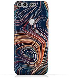 AMC Design Infinix Zero 5 X603 TPU Silicone Protective Case with Abstract Swirled Stripes Pattern