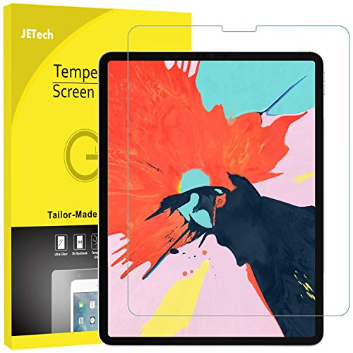 Review JETech Screen Protector for iPad Pro 12.9-Inch (3rd Generation 2018 Model, Edge to Edge Liqui...