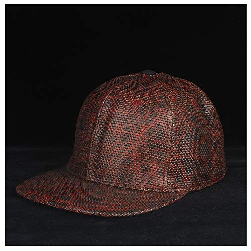 HOUJHUS Hombres Mujeres Moda Sombrero de béisbol de Paja Sombrero de Snapback Sombrero de Hip Hop Sombrero de béisbol de Deporte al Aire Libre Tamaño 56-60CM (Color : 5, Size : 56-60)