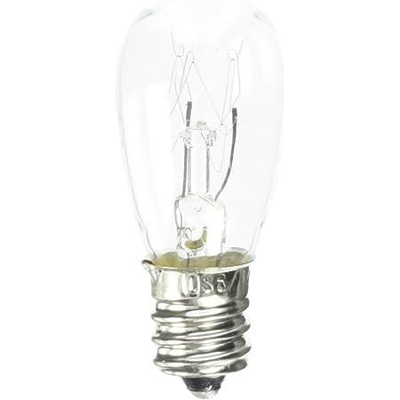 Eiko 3S6//5-120V 120V 3W S-6 Candelabra Base Halogen Bulbs