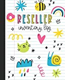 Reseller Inventory Log: Product Listing Notebook For Online Clothing Sellers, Doodles
