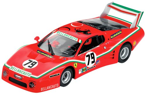 Carrera - 20030577 - Voiture Miniature - Ferrari 512 BB - LM Bellancauto - No. 79 - 1980 - Echelle 1/32