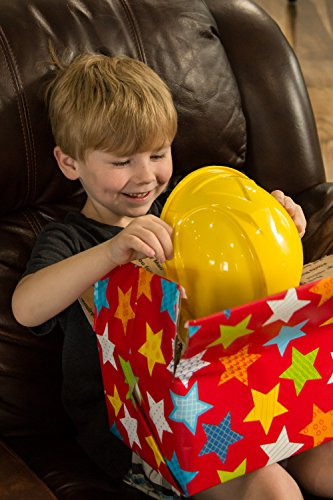 TorxGear Kids Child Hard Hat – Ages 2 to 6 – Kids Yellow Safety Construction Helmet or Costume, 3 Years to 6 Years
