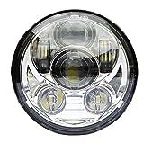Esyauto UN PAIO 5-3/4' 5.75' Faro Anteriore MOTO LED Faro Harley Davidson Led Abbagliante/Anabbagliante