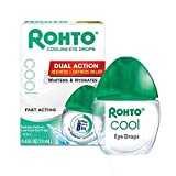 Rohto Cool The Original Cooling Redness Relief Eye Drops,0.4 Fl Oz (Pack of 3)