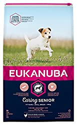 Tailored senior dog food with fresh chicken for small breed dogs in a resealable bag Improved formula for the healthy digestion and optimal body condition of your dog A hexagon kibble shape which improves palatability Contains DentaDefense to reduce ...