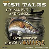 Buck Wear s Fishing Tales 2021 Wall Calendar