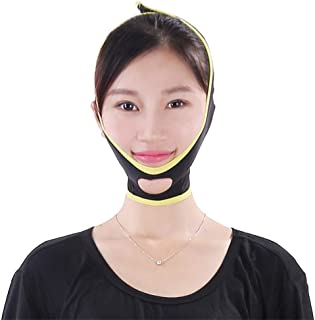Face Slimming Cheek, V Line Lifting Chin Strap Ademende vorm Contour Face Slimming Bandage voor cadeau voor mama