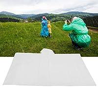 大人のレインコート、雨の日の屋外旅行のための登山用のフードデザインの半透明の軽量ウォーターコート