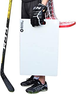 Better Hockey Extreme Sauce Launch Pad - Size 24 inches x 16 inches - Perfect for Saucer Passing and Backyard Games - Simulates The Feel of Real Ice - Made in Canada