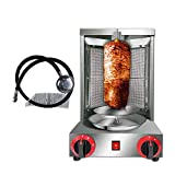 Zz Pro Shawarma Doner Kebab Machine Gyro Grill with 2 Burner Vertical Broiler for Commercial home...
