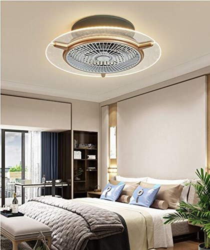 Tengchang 22' Ceiling Fan Light Lamp Remote Control with 3 Speeds and 3 Colors Changing