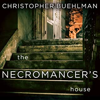 The Necromancer's House audiobook cover art