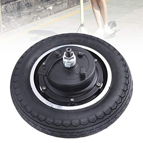 Radnabenmotor, Aluminiumlegierung 24/36 / 48v 350w 10 Zoll Elektroroller Reifen Reifen Radnabenmotor Zubehör, für Elektroroller und leichte Scoote
