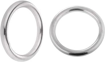 perfk 2 stuks ronde O-ringen boot rigging hardware roestbestendigheid 8 x 60 mm 10 x 70 mm