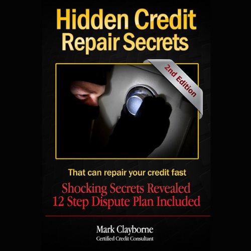 Hidden Credit Repair Secrets audiobook cover art