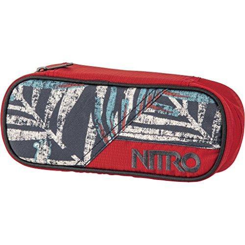 Nitro Pencil Case, Federmäppchen, Schlampermäppchen, Faulenzer Box, Federmappe, Stifte Etui, Broken Palms