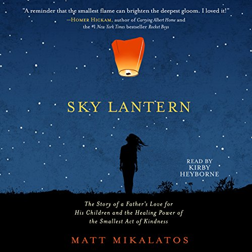 Sky Lantern audiobook cover art