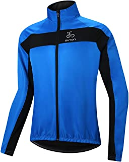 OUTON Men's Cycling Jacket Windproof Breathable Reflective Warm Thermal Mountain Bike Jacket