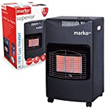 Marko Heating Calor Gas Heater LPG Portable Cabinet Butane Fire+ Regulator & Hose