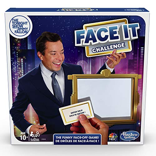 The Tonight Show Starring Jimmy Fallon Face It Challenge Party Game for Teens and Adults