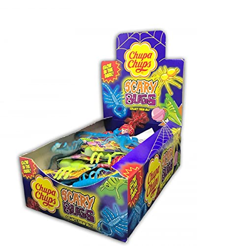 Chupa Chups Scary Bugs Glow Dark - Lecca Lecca Feste Party (4)