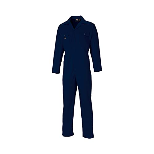 fe7af2f7055 Dickies Coverall Overalls Boiler Suit Redhawk Stud Economy Mens Pen Pocket  On Sleeve Two Chest Pockets