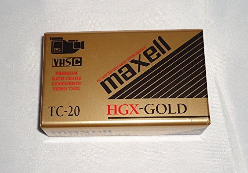 Maxell HGX-Gold 20 Special Event - Blank VHS-C Tape