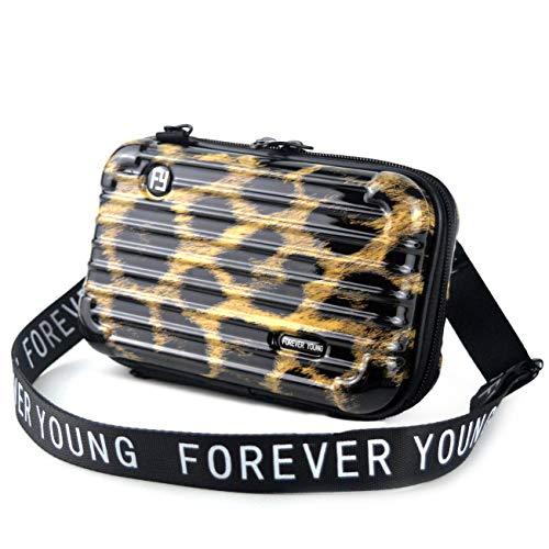 Mn&Sue Fashion Designer Mini Hartschalenkoffer Handtasche Crossbody Handtasche für Frauen Aufbewahrungsbox Kosmetiktasche
