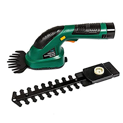MLG Tools ET1502 7.2-Volt Lithium Cordless Compact Grass Shear/Shrub Trimmer Combo