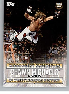 2020 Topps WWE Road to WrestleMania Winningest Superstars in History #WS-2 Shawn Michaels Wrestling Trading Card