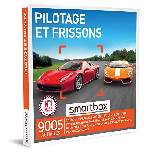 SMARTBOX - coffret cadeau couple - Fête des Pères - Pilotage et frissons - idée cadeau originale - 1 stage de pilotage pour 1 ou 2 personnes