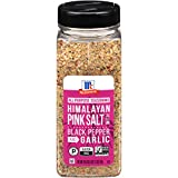 McCormick Himalayan Pink Salt with Black Pepper and Garlic All Purpose Seasoning, 18.5 oz