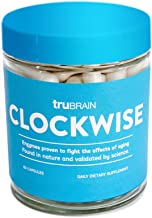 Sponsored Ad - TruBrain Clockwise | Nicotinamide | Advanced NAD+ Booster | Increases Energy & Promotes Anti Aging | Cell I...