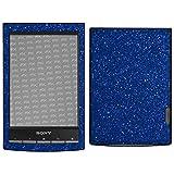 atFoliX Skin Compatibile con Sony PRS-T1 Reader, Sticker Pelle (FX-Glitter-Blue-Danube), P...