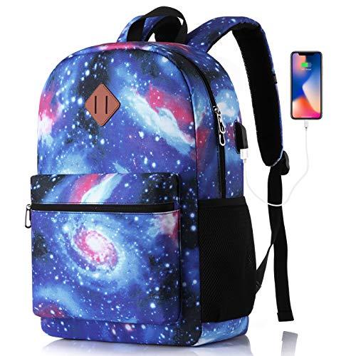 MARYARM Mochila escolar para niños y adolescentes, mochila escolar para niña, mochila escolar con compartimento para portátil