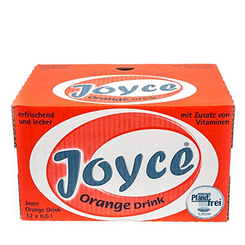JOYCE ORANGE DRINK 12 x 0,5 L TETRA