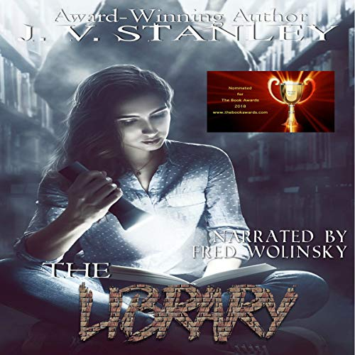 The Library audiobook cover art
