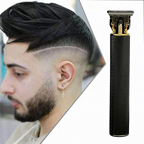 Qmcmc Haarschneidemaschine für Männer Haarschneider Wiederaufladbares Kabelloses Friseur-Haarpflegeset mit 4 Führungskämme
