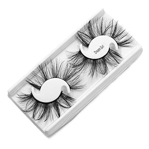Nopera Belle Croisement Pinus microphylla Outil de maquillage 5D vison hair Faux cil Cils de 25 mm Mascara Extension(Dream Girl)
