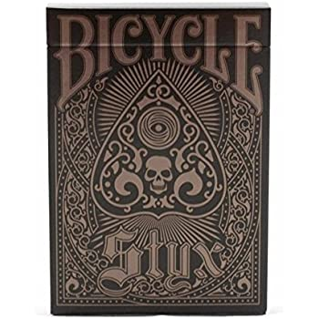 by US Playing Card Bicycle Styx Playing CardsPoker Deck Brown and Bronze