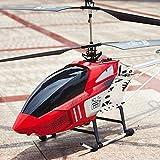 M-zen RC Helicóptero Niños Juguete Super Grande Radio Control Remoto 3.5 Canales 2.4GHZ Gyro RC Helicóptero LED Interior Exterior Control Remoto Flying Aircraft Gyro Juguete para Niños