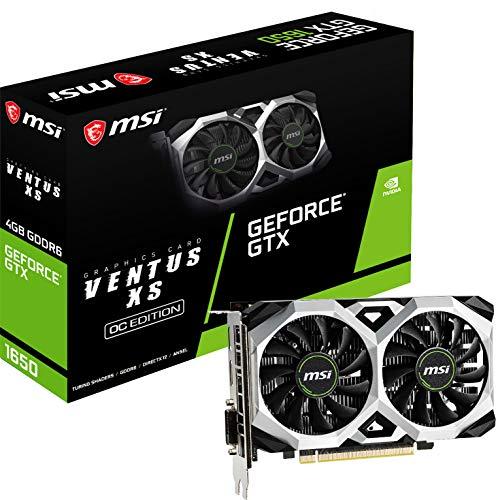 MSI Geforce GTX 1650 D6 Ventus XS OC 4GB GDDR6 Grafikkarte HDMI/DP/DVI