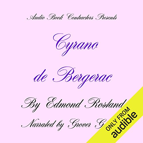 Cyrano de Bergerac  By  cover art
