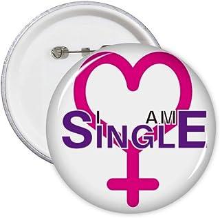 Lot de 5 badges d'identification pour femme