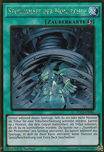 PGL3-DE085 - Sturmkraft der Monarchen - Gold Rare - Yu-Gi-Oh - Deutsch - 1. Auflage - LMS Trading