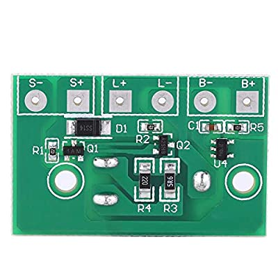 Solar Lamp Controller Module Control Circuit Board with Switch for 3.7V Lithium Battery Solar spotlight Plug-in Ground Circuit Board